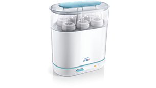3-in-1 Electric Steam Sterilizer