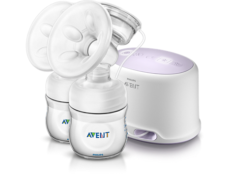 Comfort Twin Electric Breast Pump Double Breast expression