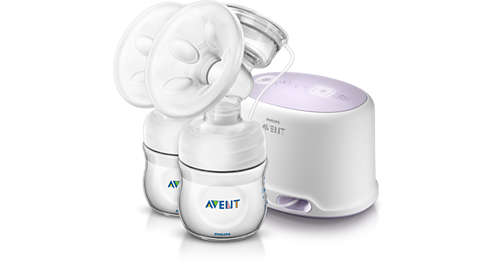 View Details Of Philips Comfort Twin Electric Breast Pump