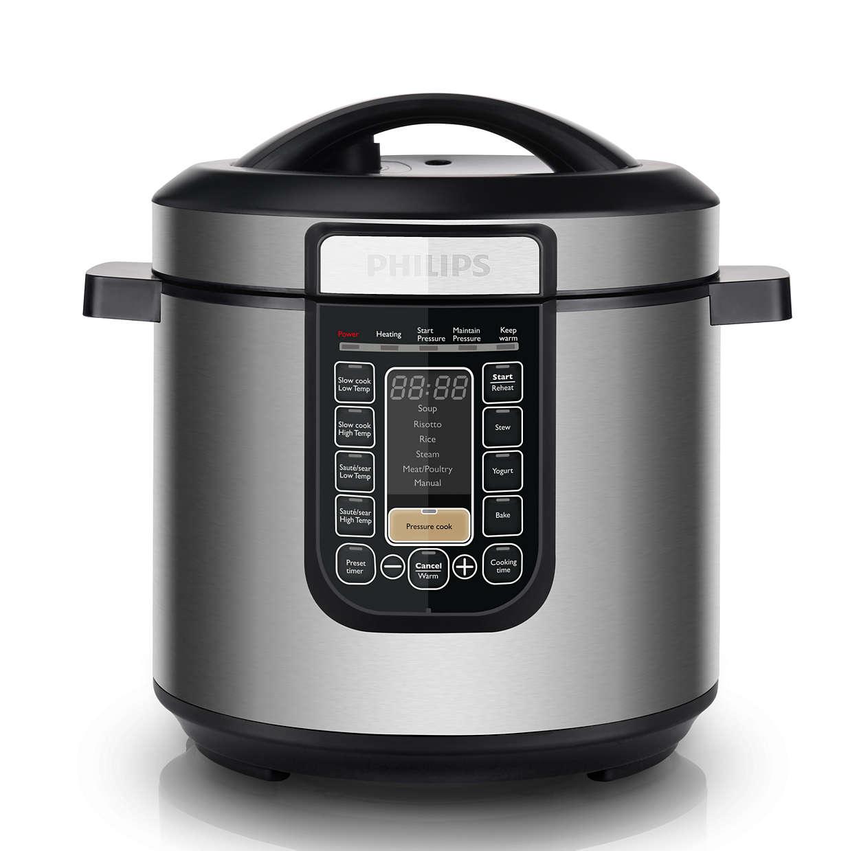為您烹調需求而設的智能萬用鍋
