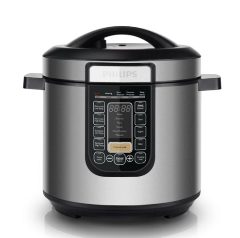 Image result for Philips Viva Collection All-In-One Cooker HD2137 with Stainless Steel Pot HD2778
