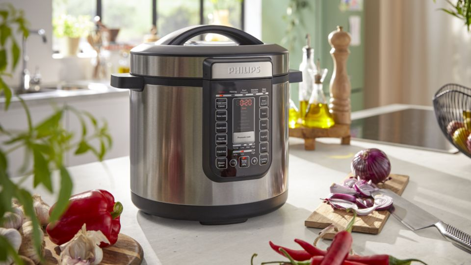 Effortless and 35%* faster cooking