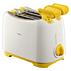 Philips Sandwich toaster  2 slot White yellow