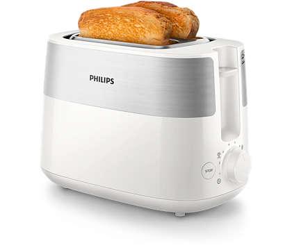 Chrupiące, złociste tosty każdego dnia