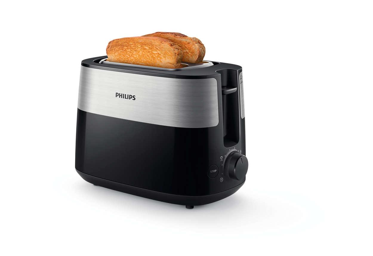 Vsak dan zlatorjavo popečen kruh