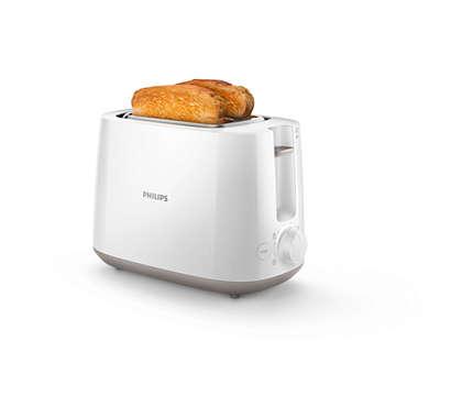تحضير خبز محمّص ذهبي اللون يوميًّا
