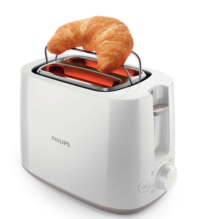 Toast croccanti e dorati ogni giorno