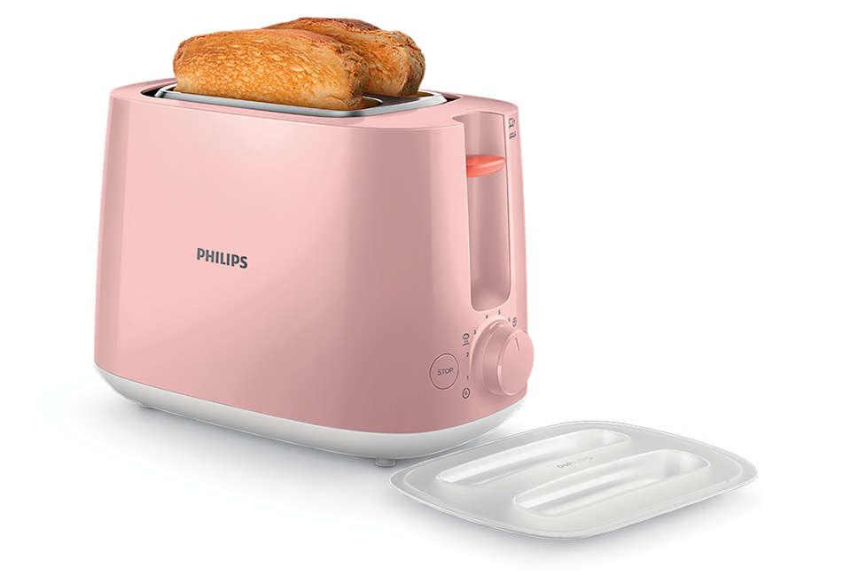 每天都可享用金黃酥脆的麵包