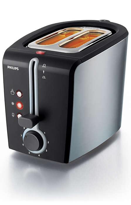 Savourez un pain parfaitement grillé