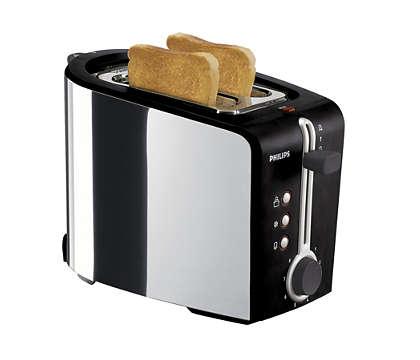Enjoy great toast