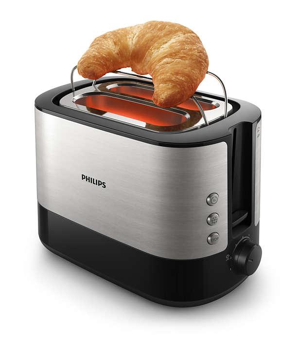 미리 썰어둔 빵이든 직접 썰어낸 빵이든 언제나 바삭한 토스트