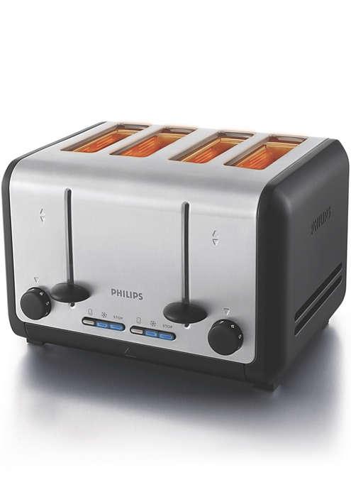 Disfrute de excelentes tostadas