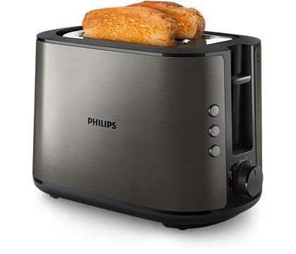 Tostadas crujientes perfectas con todo tipo de pan
