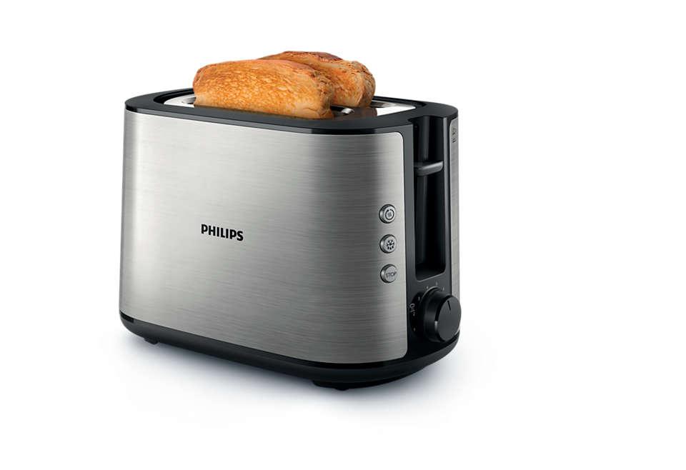 Pâine prăjită perfect, gata feliată sau nu