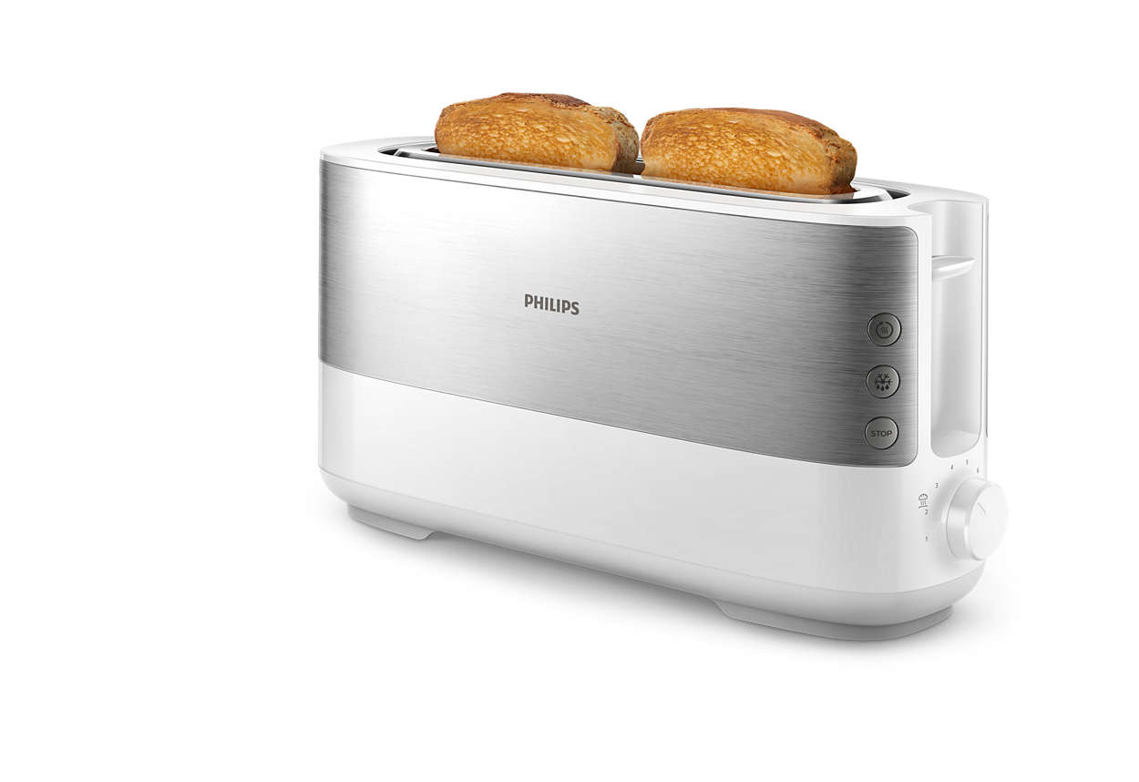Geschikt voor dik en dun gesneden brood