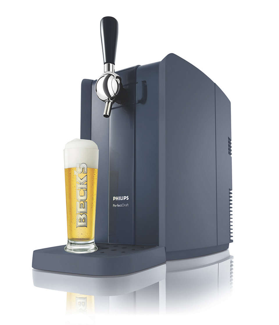 La fraîcheur d'une bière pression à domicile