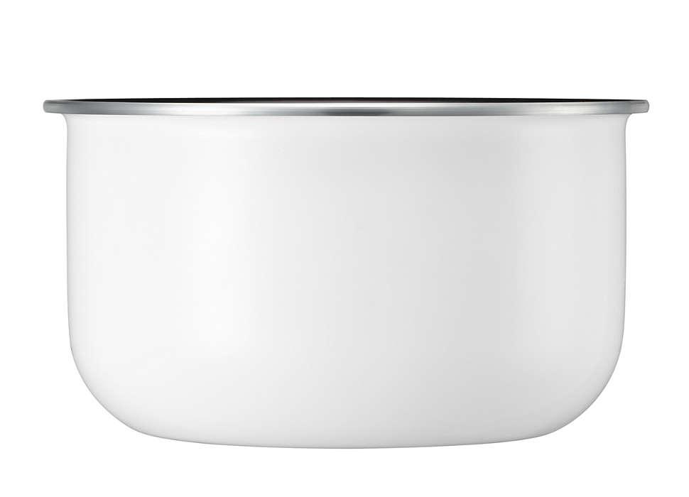 Cuve avec parois de 4mm pour plats mijotés