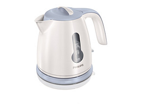 Philips Daily Collection mini kettle HD4608 70 0.8 L 2400 W 1 cup indicator White and Blue Hinged lid