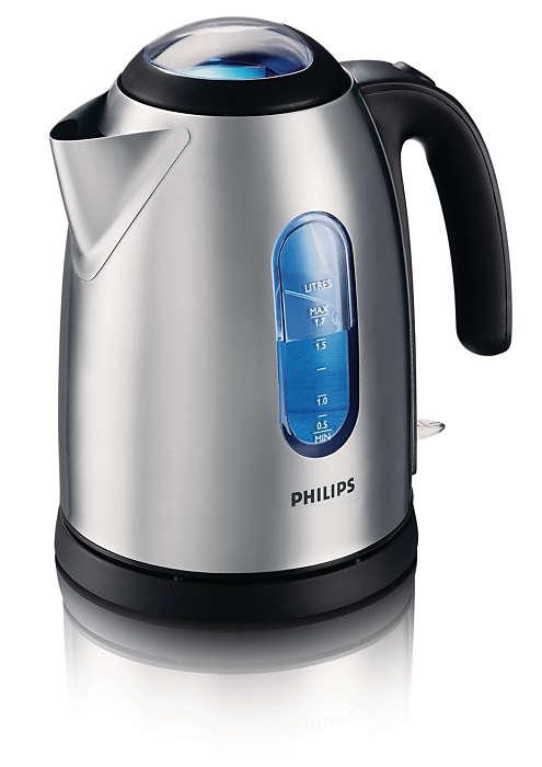 Water snel en eenvoudig koken