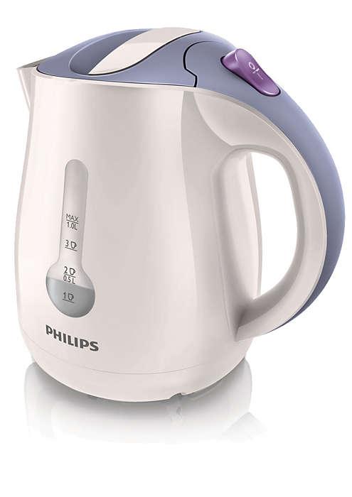 Kochen Sie nur Wasser, das Sie brauchen