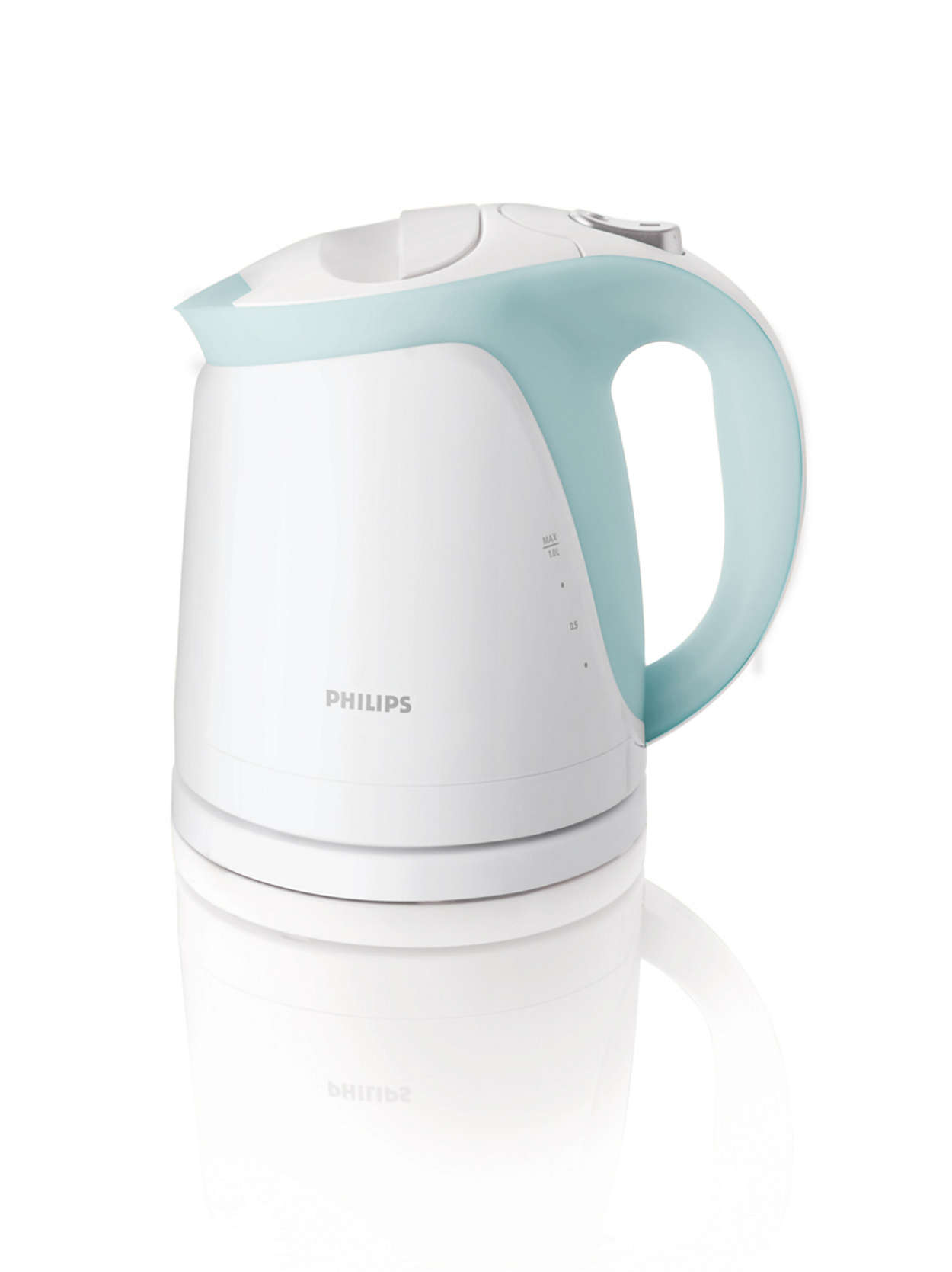 Clear water, cleaner kettle
