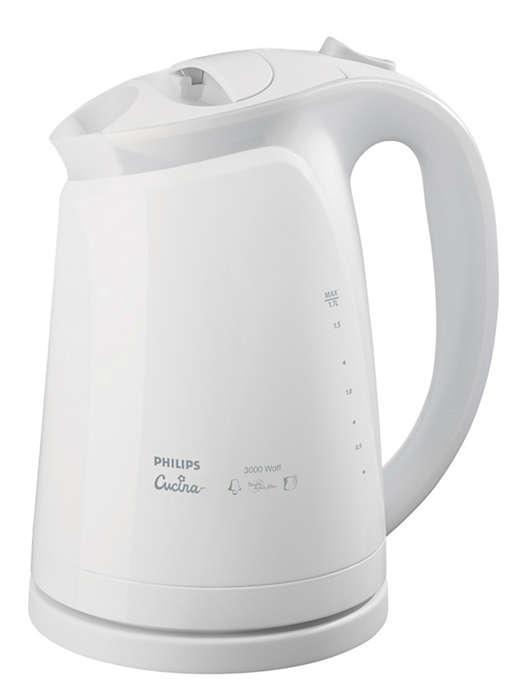 純淨開水和更清潔的電熱水煲
