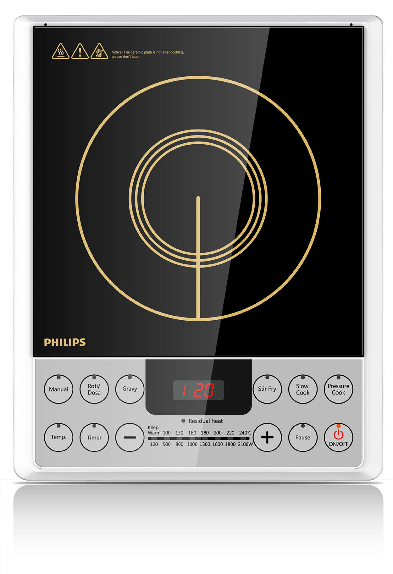 Induction Cooker makes cooking Joyful & Effortless