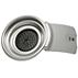 Portacialde da 1 tazza grigio argento
