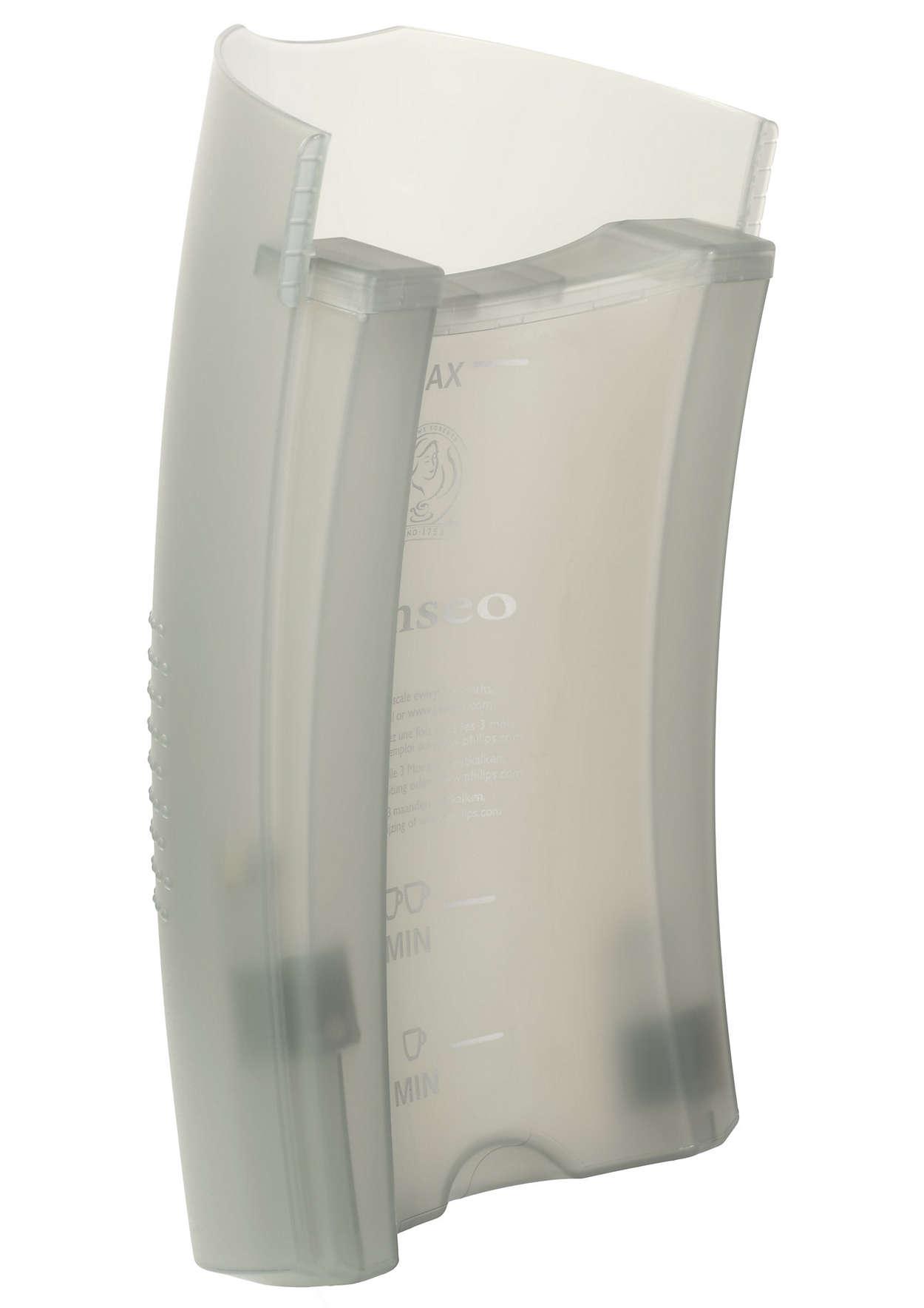 Voor opslag van water in uw SENSEO®