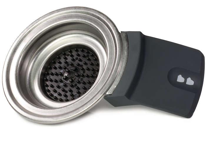 Permite guardar dos dosis de café en la SENSEO®