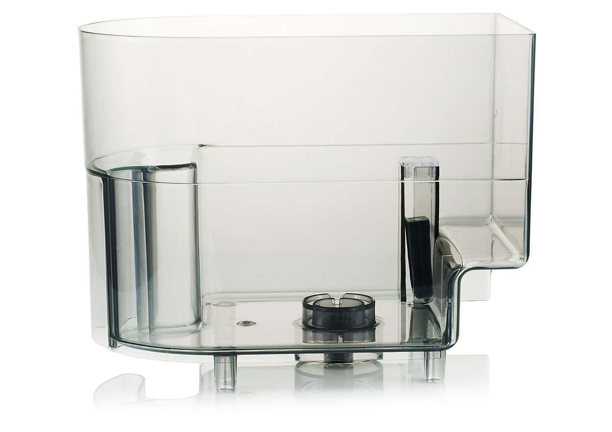 Bewahrt das Wasser in Ihrer Kaffeemaschine auf