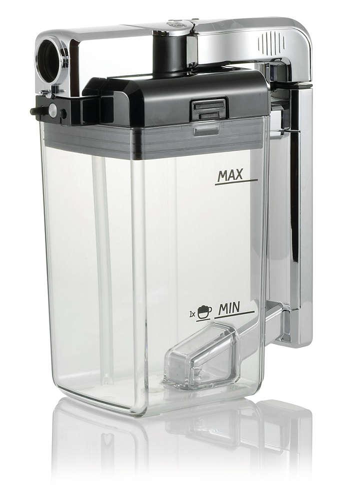 Il sistema completo per creare la crema di latte