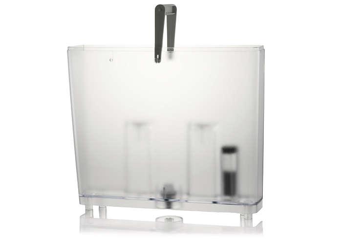 Per l'acqua nella tua macchina da caffè