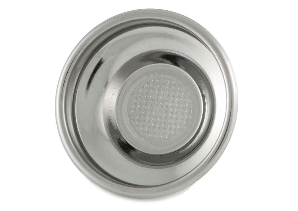 Kahvityynyjen käyttäminen suodattimessa