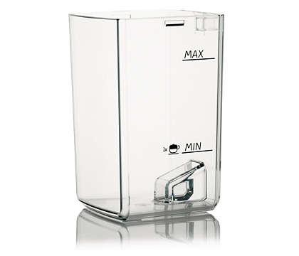 Contains the milk in your espresso machine