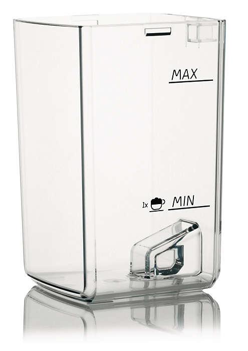 Contient le lait de votre machine espresso