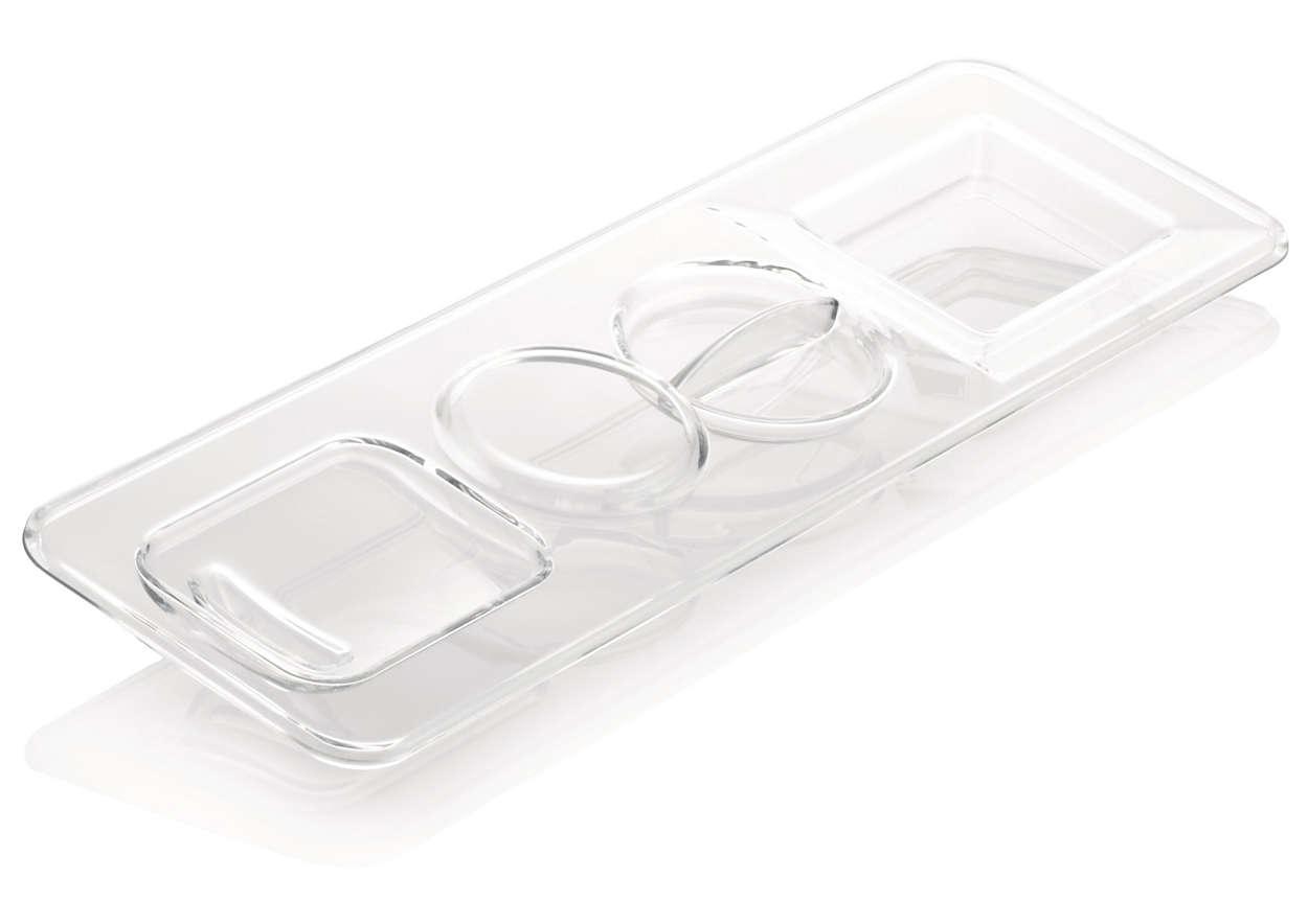 Täcker espressomaskinens vattenbehållare