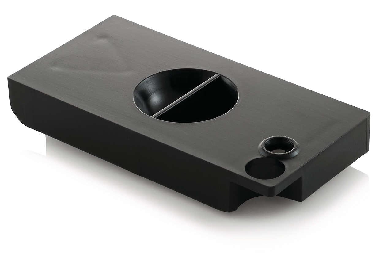 Forhindrer kondensering i drypbakken