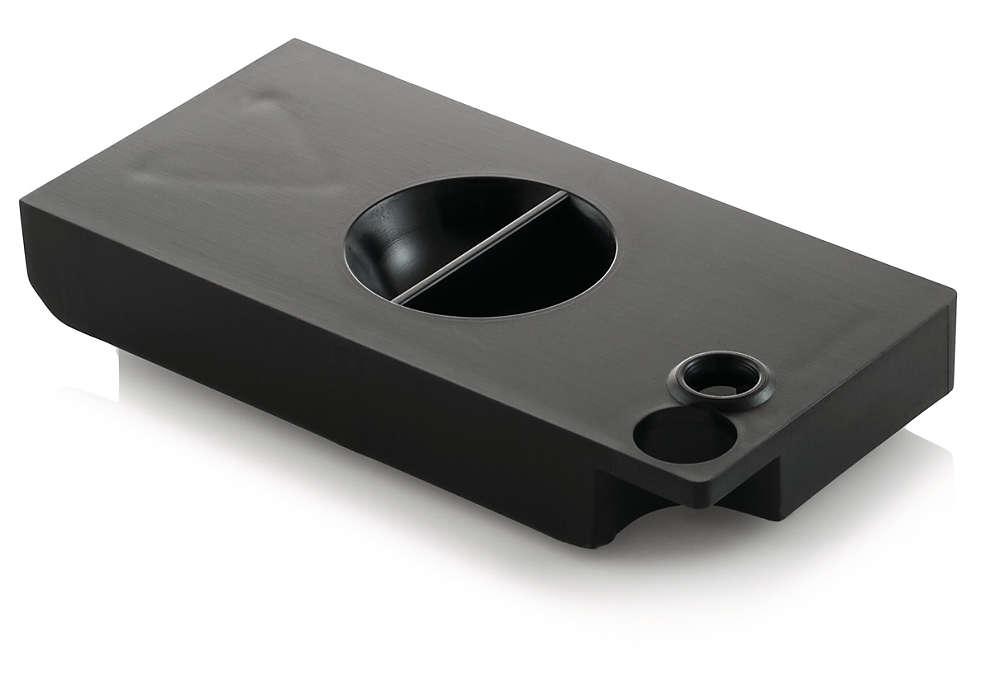 Évite la condensation dans le bac d'égouttement