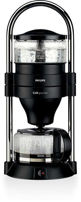 Suunniteltu parhaan mahdollisen suodatinkahvin valmistamiseen