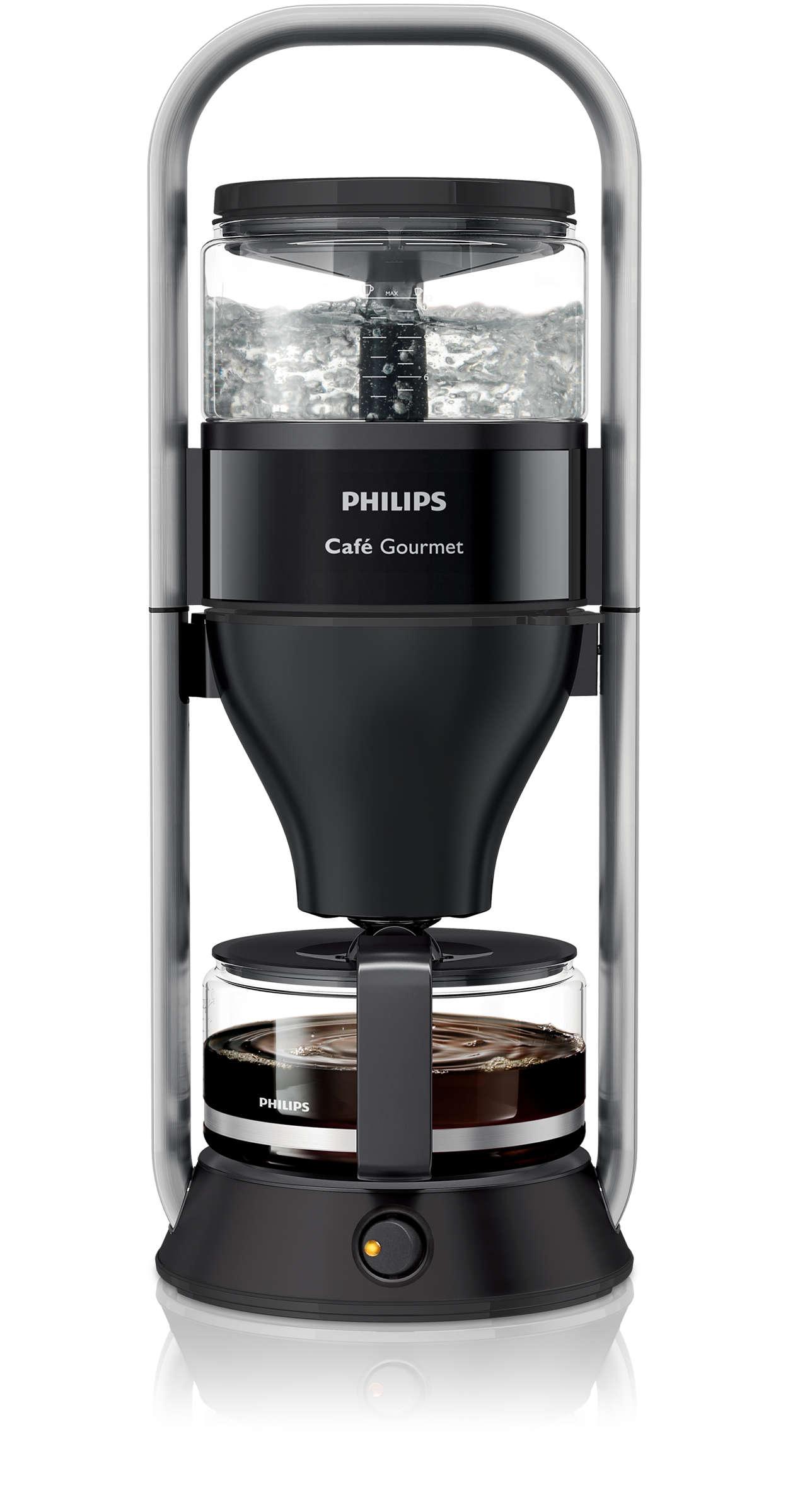 1988 bis heute – Kaffee so aromatisch wie von Hand gebrüht