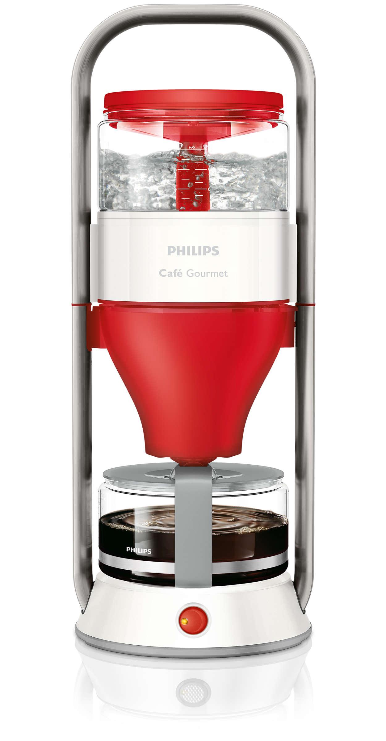 caf gourmet kaffeemaschine hd5407 80 philips. Black Bedroom Furniture Sets. Home Design Ideas
