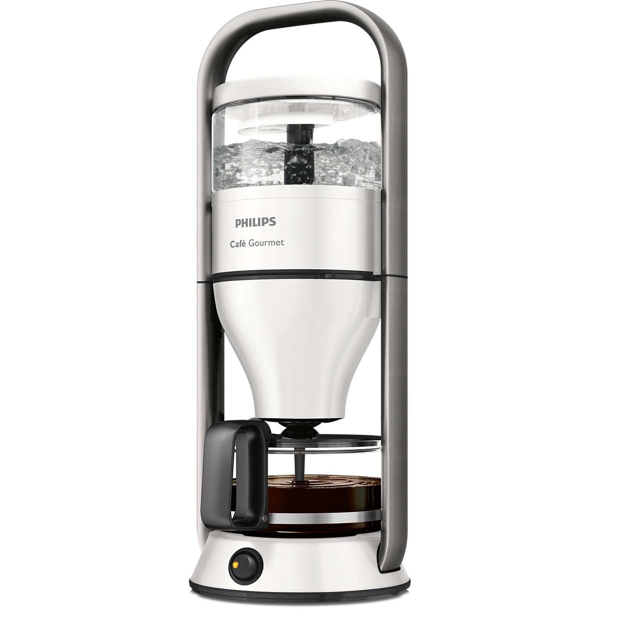 Täglich frisch aufgebrühter Filterkaffee seit 30Jahren