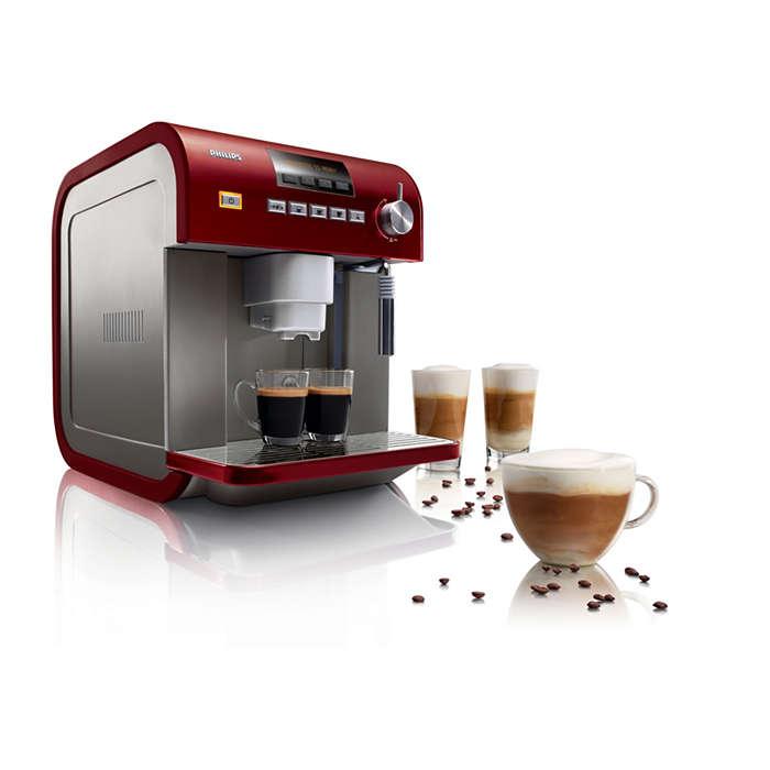 Genießen Sie das Aroma jeder Tasse Kaffee