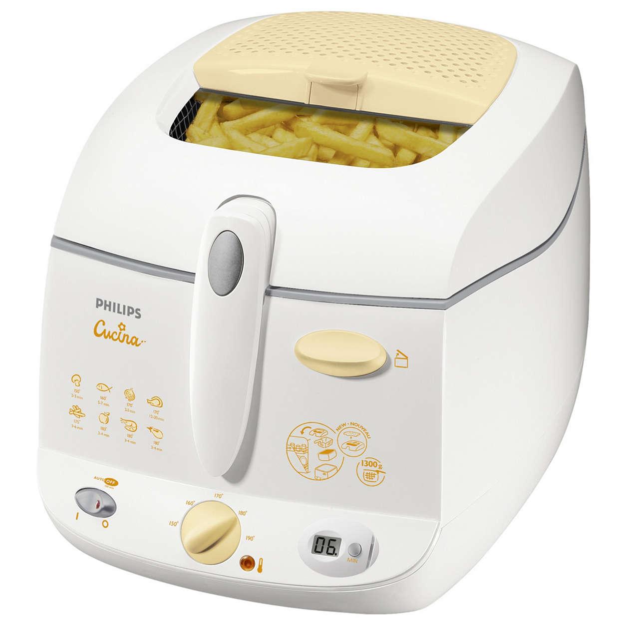Deep Fat Fryer Hd6155 80 Philips