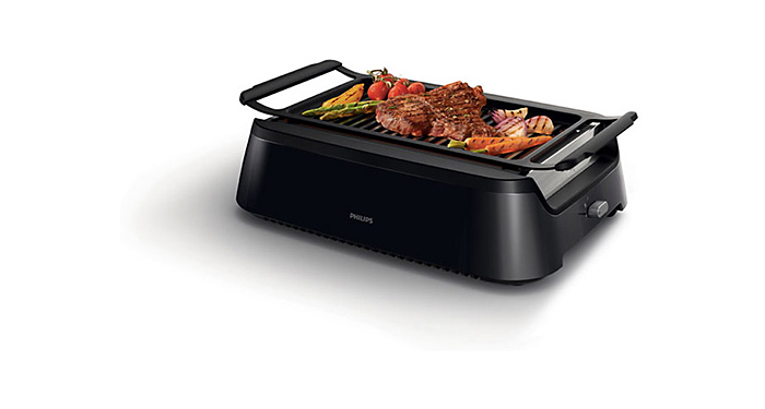 Smoke less Infrared heat technology Indoor Grill