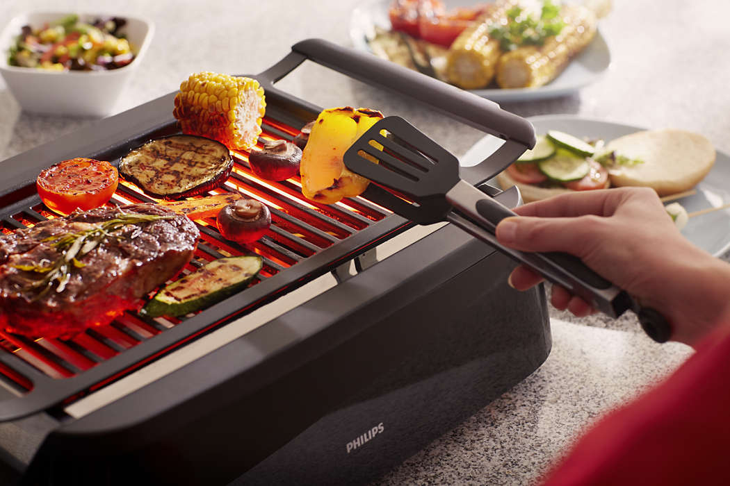 Avance Collection Indoor Grill HD6371/94 | Philips