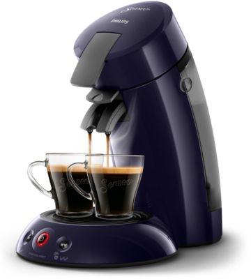 Philips Original Kaffeepadmaschine HD6554 40