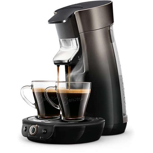SENSEO-koffieboosttechnologie Koffiepadmachine