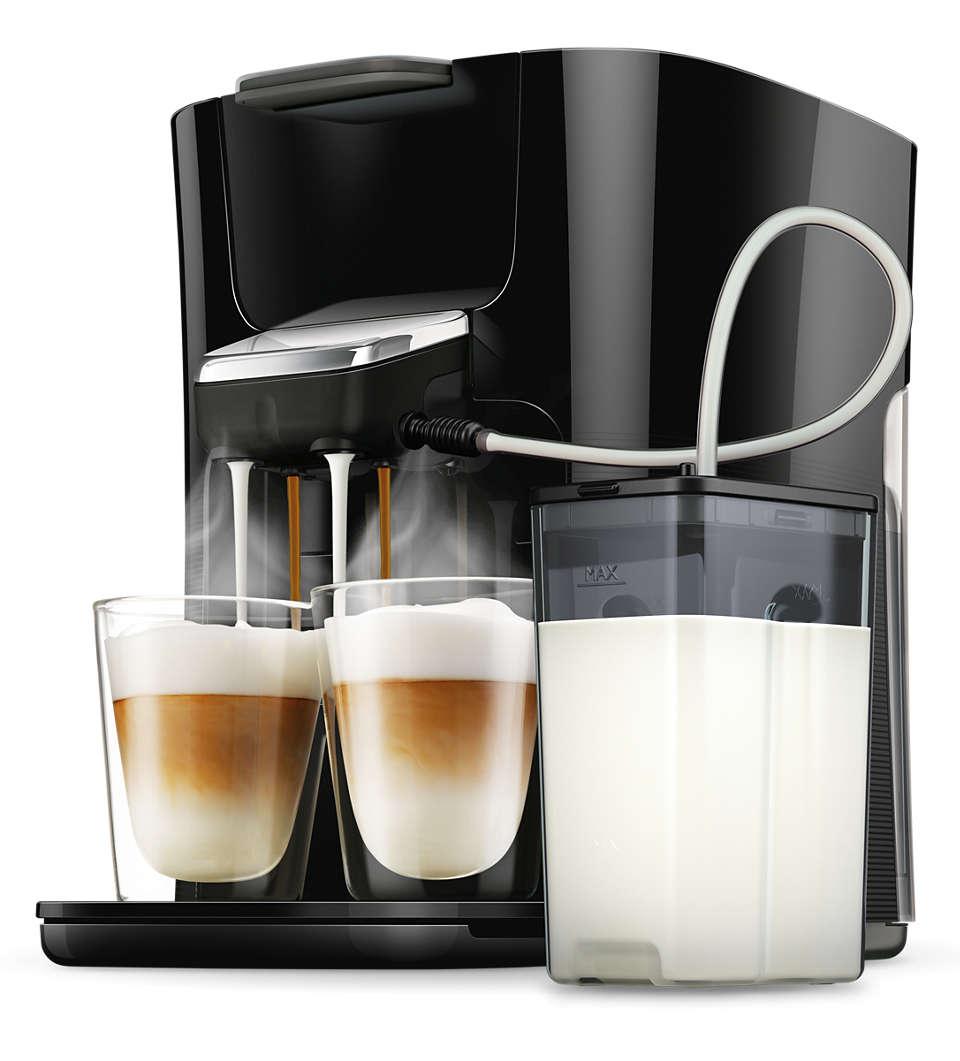 Savourez encore plus facilement votre cappuccino préféré!